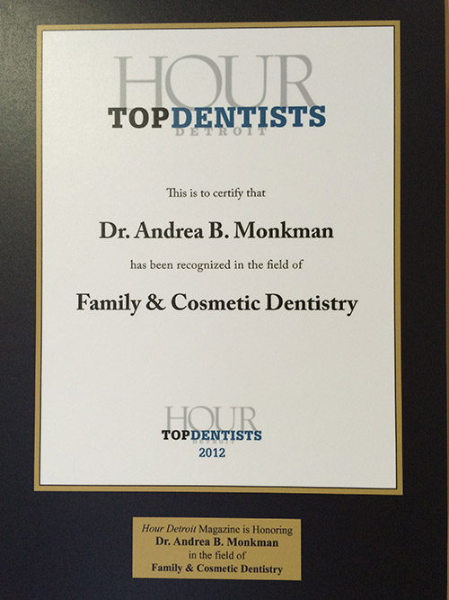 Top Dentist Award